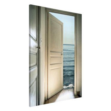 Magnettafel - Behind the Door - Memoboard Hoch