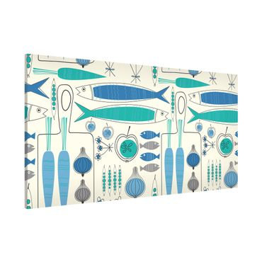 Magnettafel - Fisherman Friends Blau - Memoboard Panorama Quer
