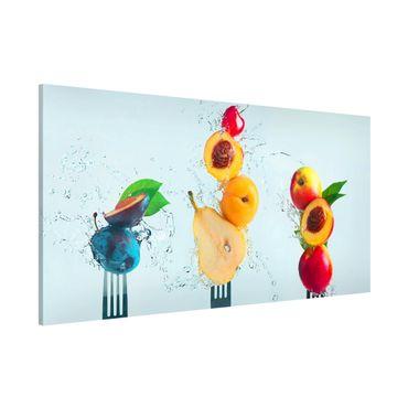 Magnettafel - Fruchtsalat - Memoboard Panorama Querformat