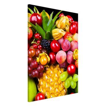 Magnettafel - Fruit Bokeh - Memoboard Hoch