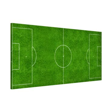 Magnettafel - Fußballfeld - Memoboard Panorama Quer