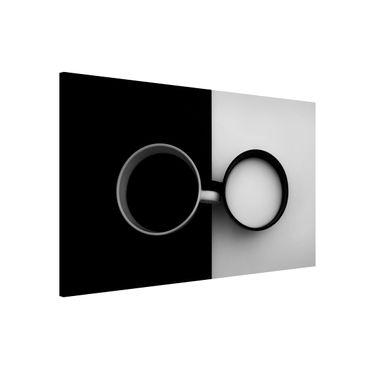 Magnettafel - Gegensätze - Memoboard Querformat