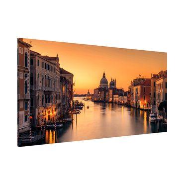 Magnettafel - Goldenes Venedig - Memoboard Panorama Querformat 1:2