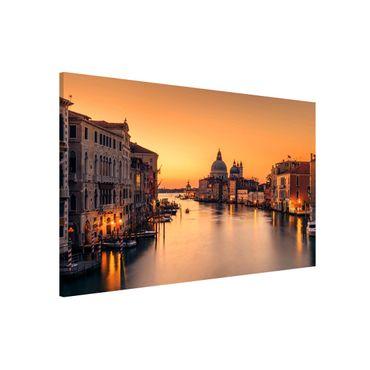 Magnettafel - Goldenes Venedig - Memoboard Querformat 2:3
