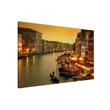 Magnettafel - Großer Kanal von Venedig - Memoboard Quer