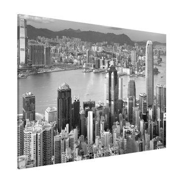 Magnettafel - Hongkong - Memoboard Quer