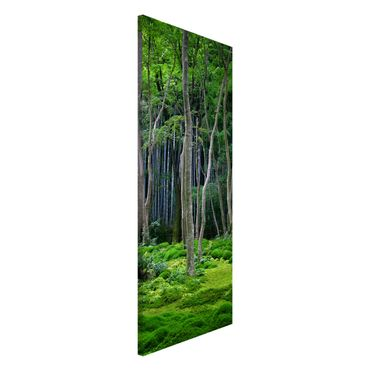 Magnettafel - Japanischer Wald - Memoboard Panorama Hoch