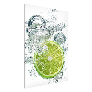 Magnettafel - Lime Bubbles - Memoboard Hoch