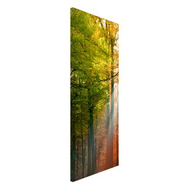Magnettafel - Morning Light - Memoboard Panorama Hoch
