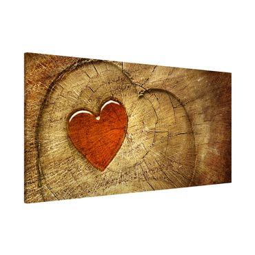 Magnettafel - Natural Love - Memoboard Panorama Quer