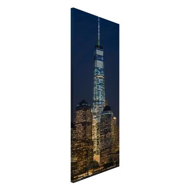 Magnettafel - One World Trade Center - Memoboard Panorama Hochformat