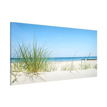 Magnettafel - Ostseeküste - Memoboard Panorama Quer