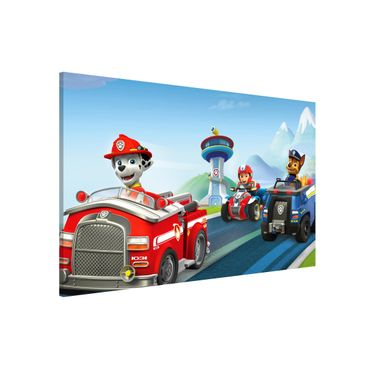 Magnettafel - PAW Patrol - Voll in Fahrt - Memoboard Querformat