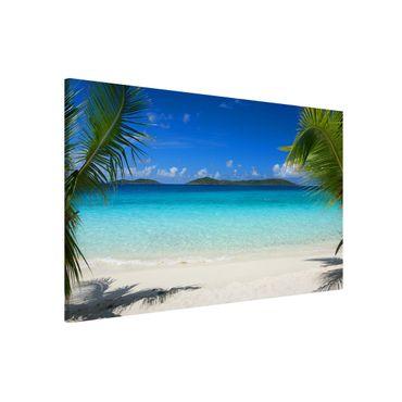 Magnettafel - Perfect Maledives - Memoboard Quer