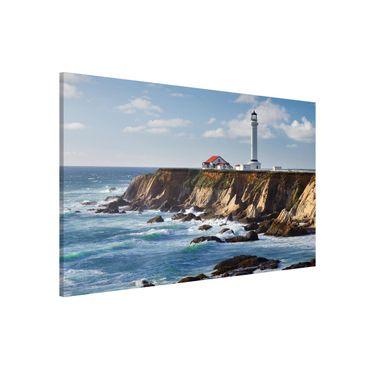 Magnettafel - Point Arena Lighthouse Kalifornien - Memoboard Querformat