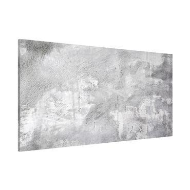 Magnettafel - Industrie-look Betonoptik - Memoboard Panorama Quer