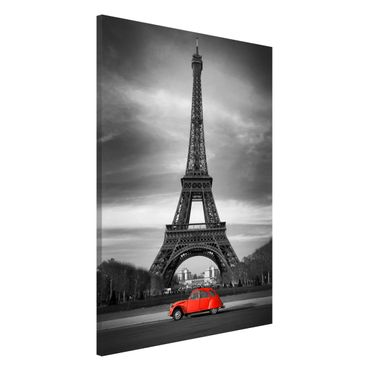 Magnettafel - Spot on Paris - Memoboard Hoch