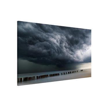 Magnettafel - Sturmwolken über der Ostsee - Memoboard Querformat 2:3