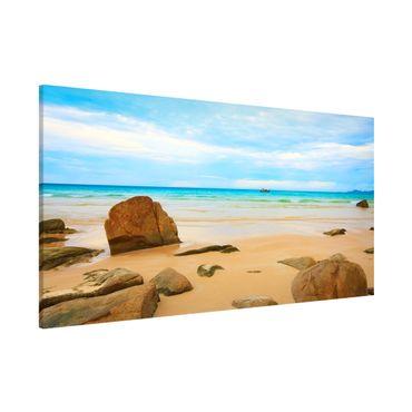Magnettafel - The Beach - Memoboard Panorama Quer
