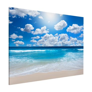 Magnettafel - Touch of paradise - Memoboard Quer