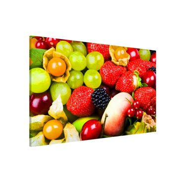Magnettafel - Tropical Fruits - Memoboard Quer