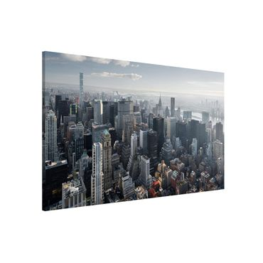 Magnettafel - Upper Manhattan New York City - Memoboard Querformat