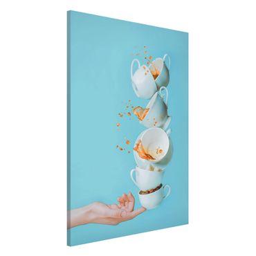 Magnettafel - Waking up - Memoboard Hoch