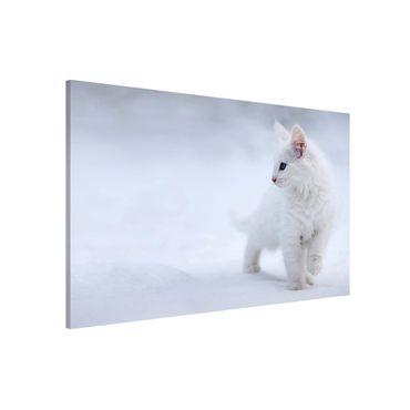 Magnettafel - Weiß wie Schnee - Memoboard Quer