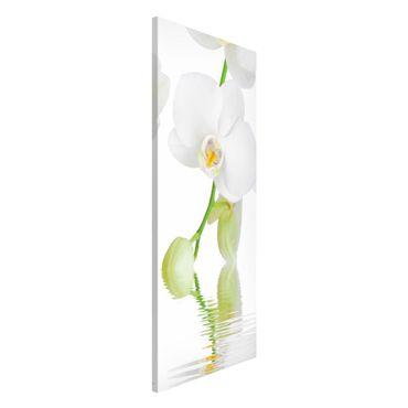 Magnettafel - Wellness Orchidee - Blumenbild Memoboard Panorama Hoch