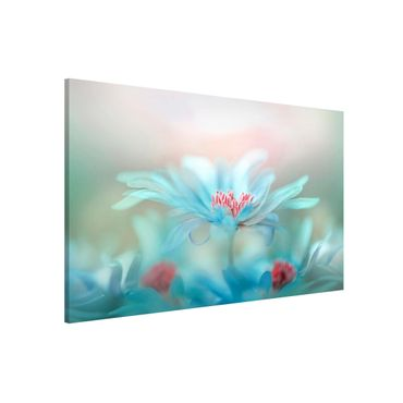 Magnettafel - Zarte Blüten in Pastell - Memoboard Quer