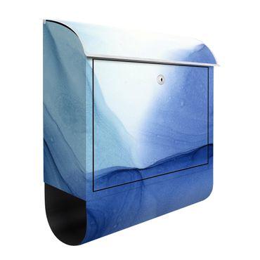 Briefkasten - Meliertes Tintenblau