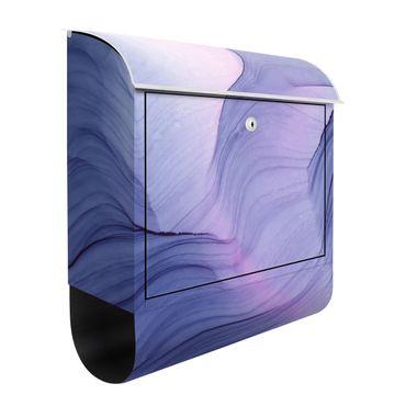 Briefkasten - Meliertes Violett