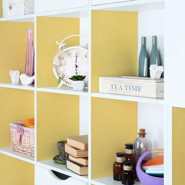 Möbelfolie gelb einfarbig - Honig pastell - Möbel Klebefolie hellgelb