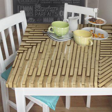 Möbelfolie - Design Klinker natur - Steinfolie für Möbel