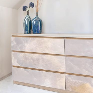 Möbelfolie - Onyx Marmor Grau