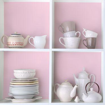 Möbelfolie rosa hell einfarbig - Rosé - Möbel Klebefolie pink