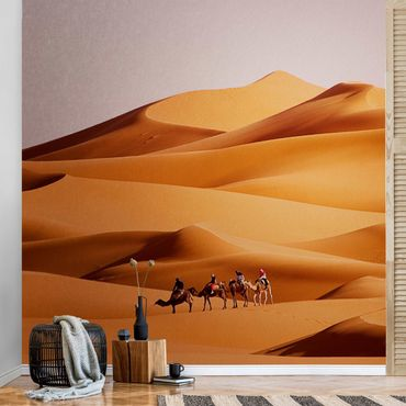 Metallic Tapete  - Namib Desert