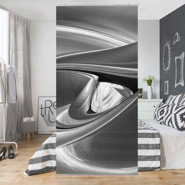 Raumteiler - Agitating Pink II 250x120cm