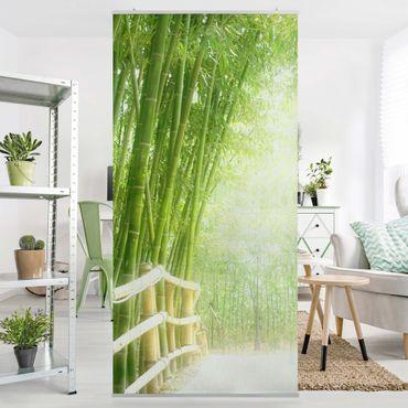 Raumteiler - Bamboo Way 250x120cm