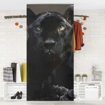 Raumteiler - Black Puma 250x120cm