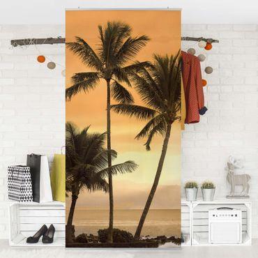 Raumteiler - Caribbean Sunset 250x120cm