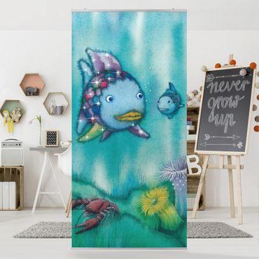 Raumteiler - Der Regenbogenfisch - Zwei Fischfreunde unterwegs 250x120cm