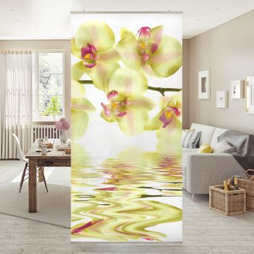Raumteiler - Dreamy Orchid Waters 250x120cm
