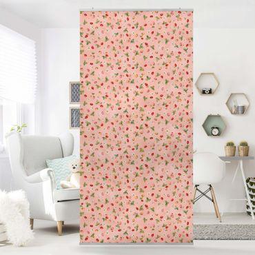 Raumteiler - Erdbeerinchen Erdbeerfee - Erdbeerblüten