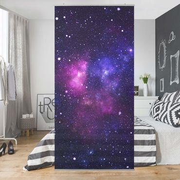 Raumteiler - Galaxie 250x120cm