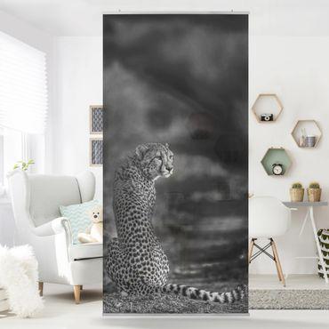 Raumteiler - Gepard in der Wildness - 250x120cm