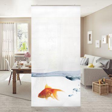 Raumteiler - Goldfisch 250x120cm