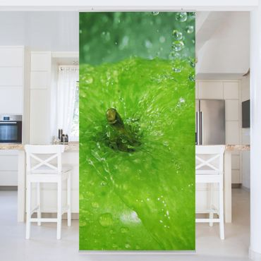 Raumteiler - Green Apple 250x120cm