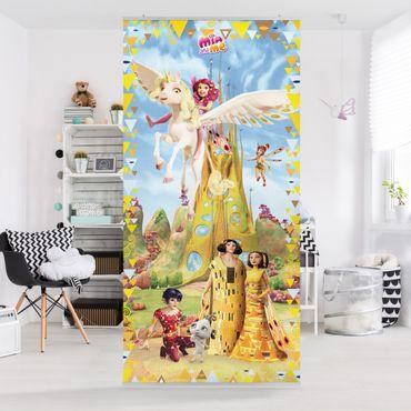 Raumteiler Kinderzimmer - Mia and Me - bei der Königsfamilie 250x120cm
