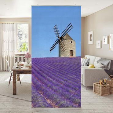 Raumteiler - Lavendelduft in der Provence 250x120cm